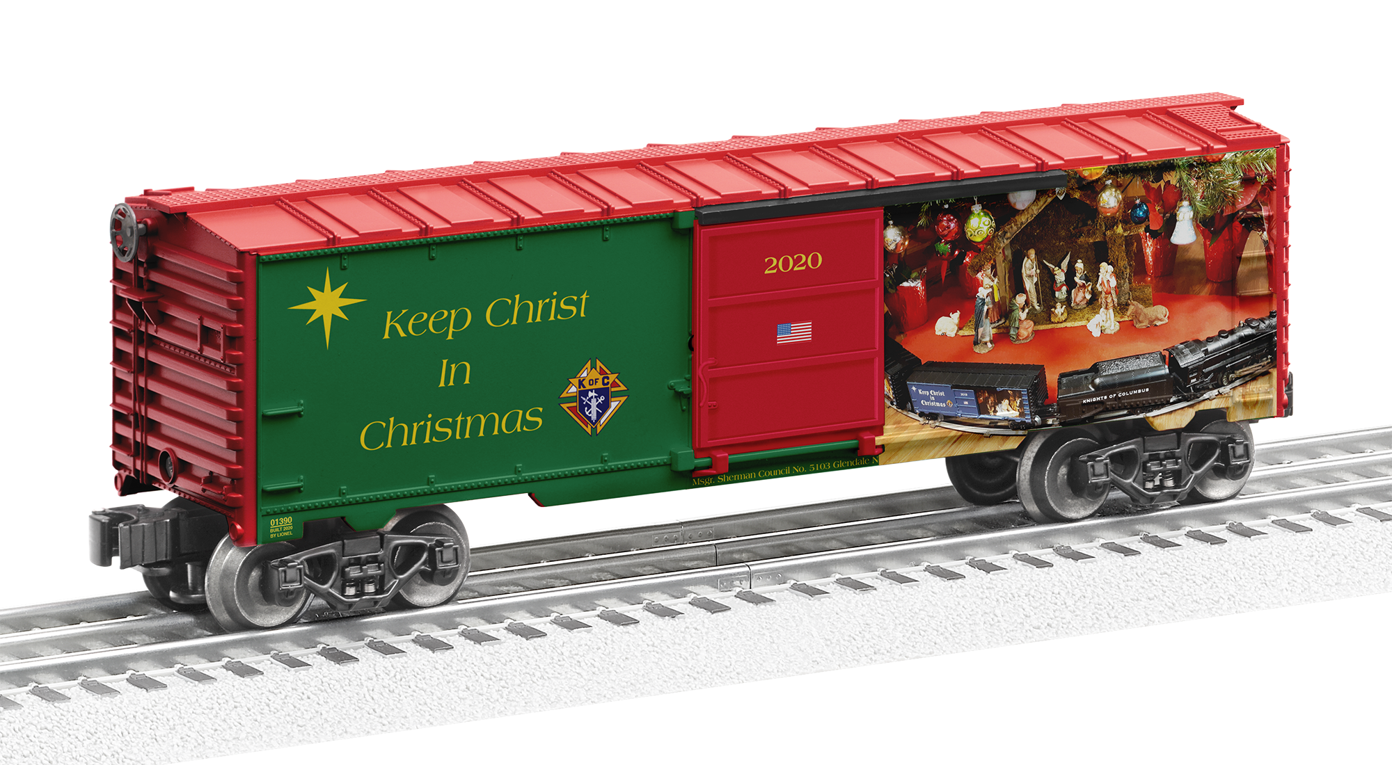 Koc Keep Christ In Christmas Order Forms 2020 Msgr. Sherman Council No 5103, Knights of Columbus – Serving our